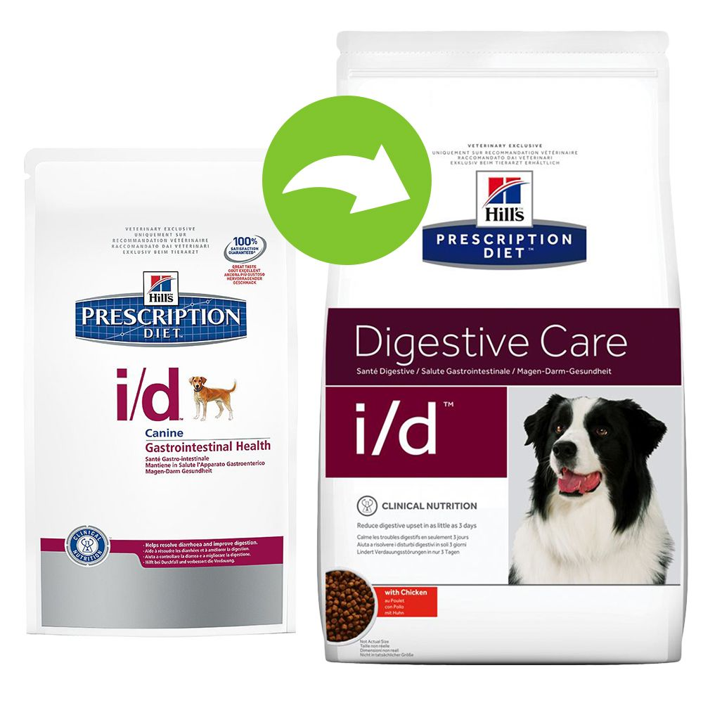 Hill's Prescription Diet Canine i/d Digestive Care – Ekonomipack: 2 x 12 kg