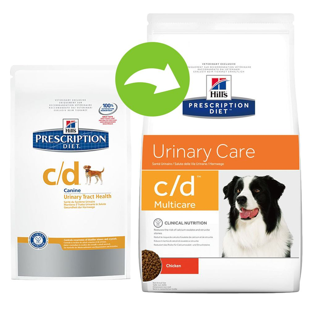 Hill's Prescription Diet Canine - c/d Urinary Care - Economy Pack: 2 x 12kg