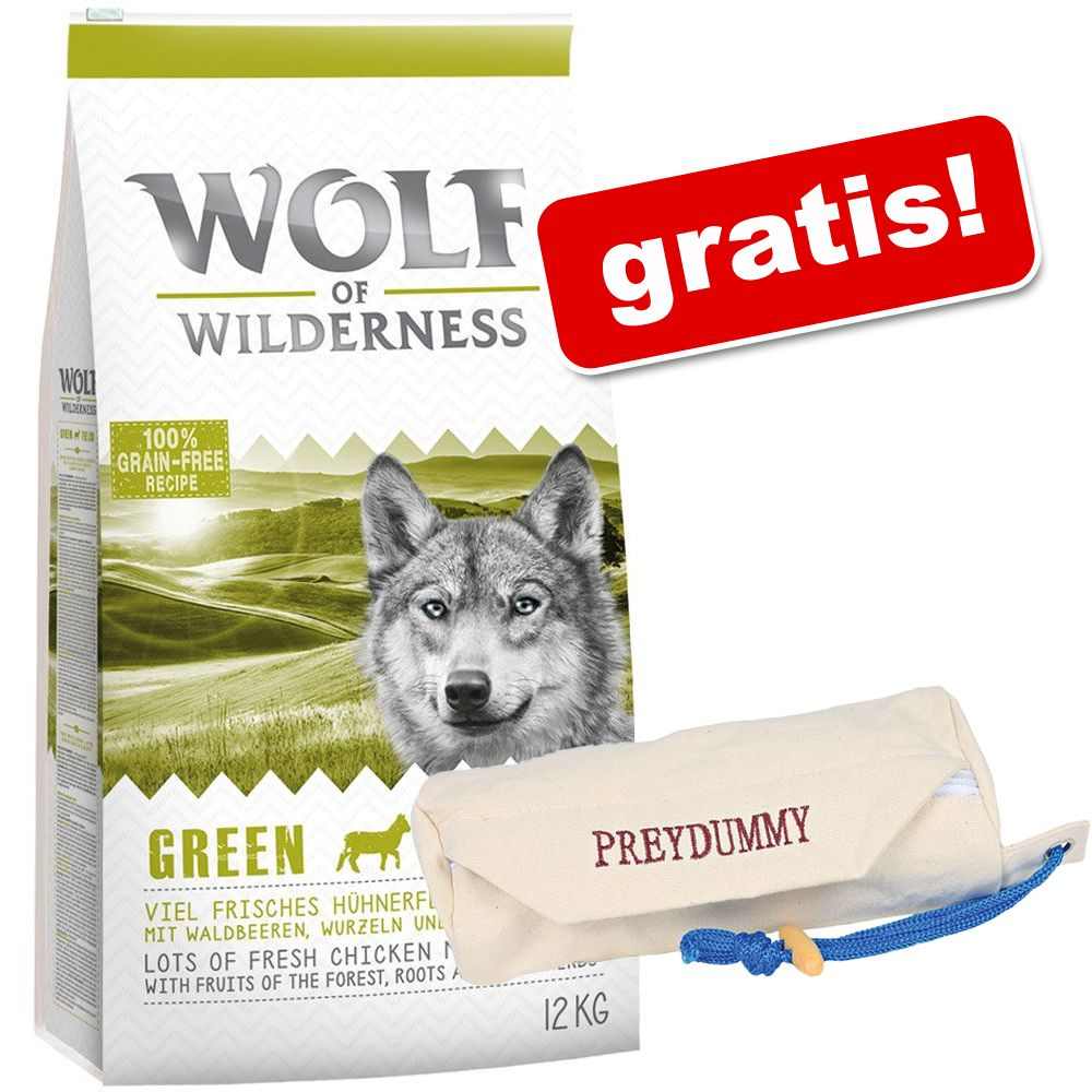 Foto 12 kg Wolf of Wilderness + Preydummy gratis! - Adult Wild Hills - Anatra