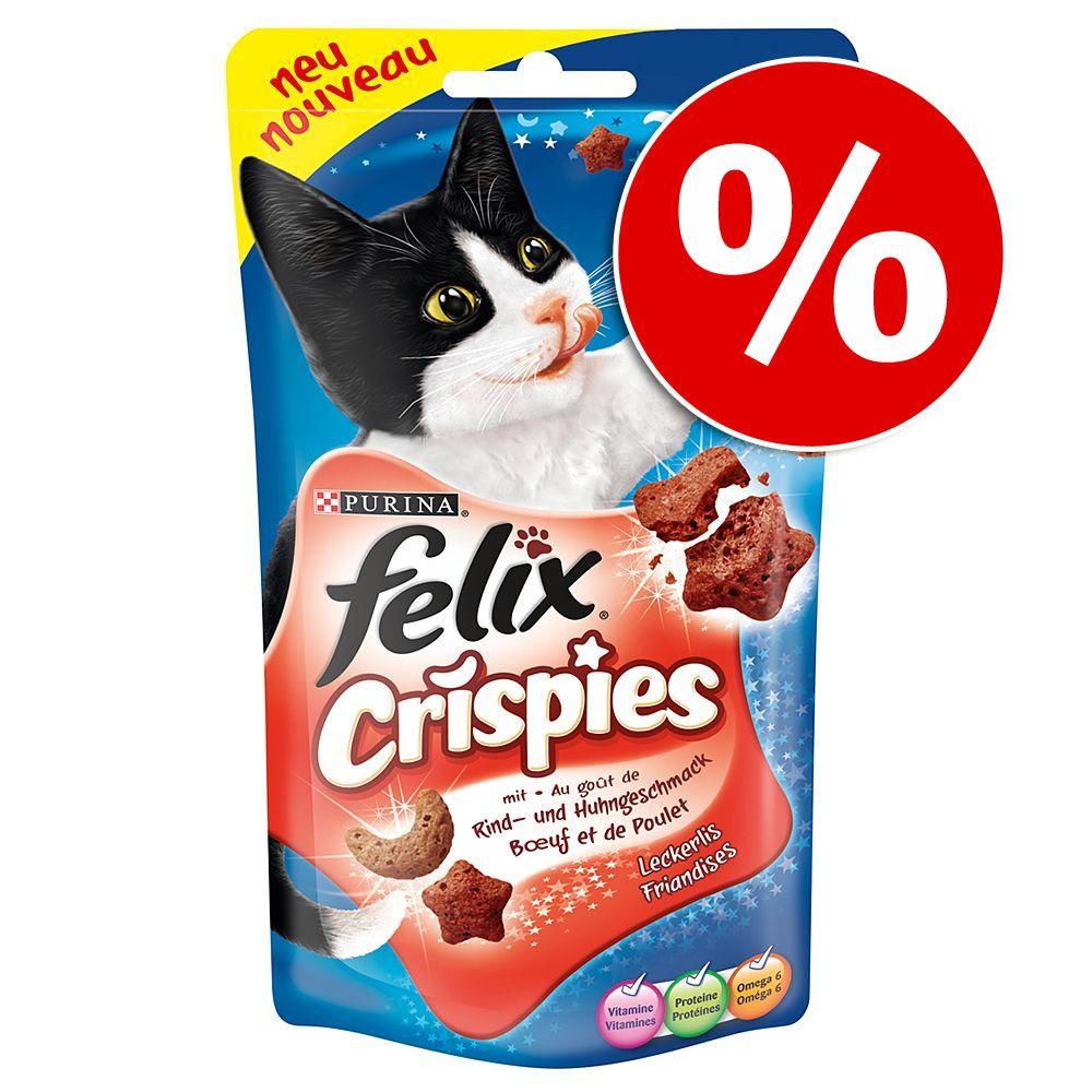 Felix Crispies, 4 x 45 g w super cenie! - Mięso z warzywami