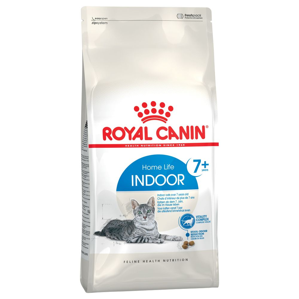 Royal Canin Indoor 7+ Cat - Saver Pack 2 x 3.5kg