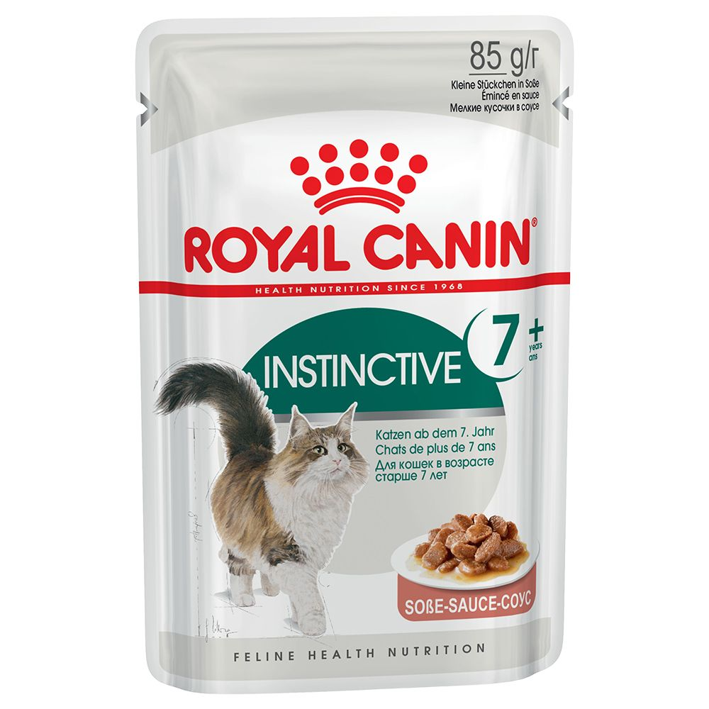 Royal Canin Instinctive +7 i sås - 48 x 85 g