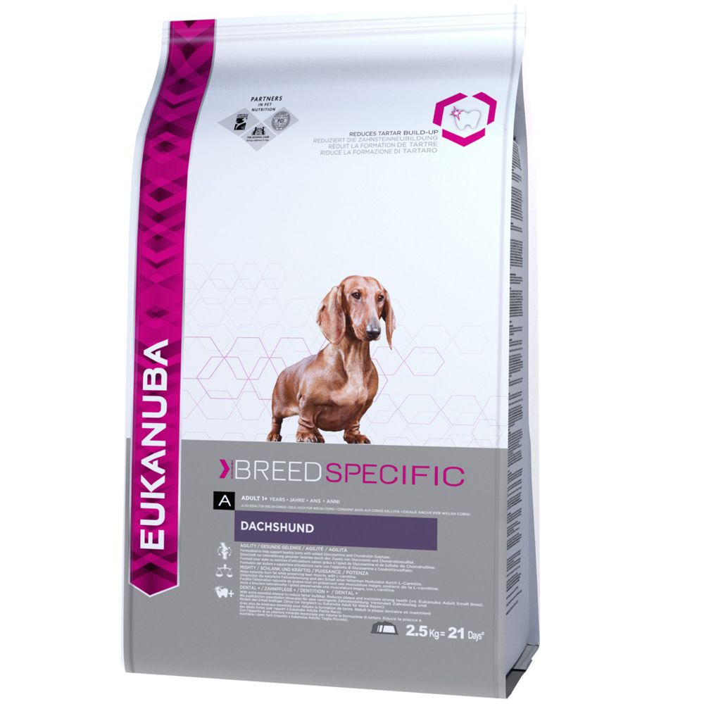 Image of Eukanuba Bassotto Tedesco - Set %: 2 x 2,5 kg