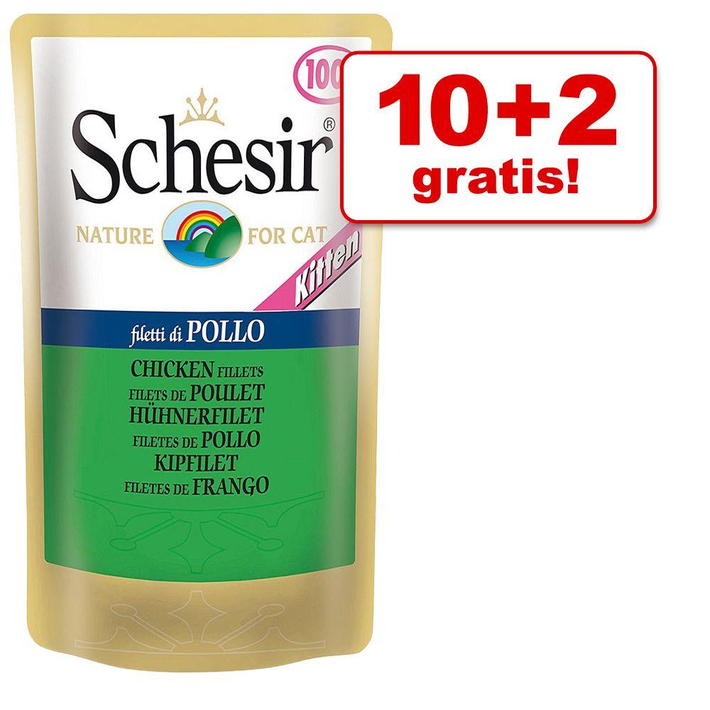 10 + 2 gratis! Schesir Ki
