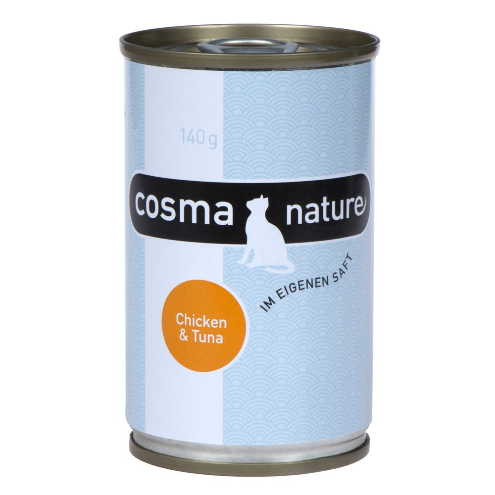 Cosma Nature 6 x 140 g - Hühnchenfilet