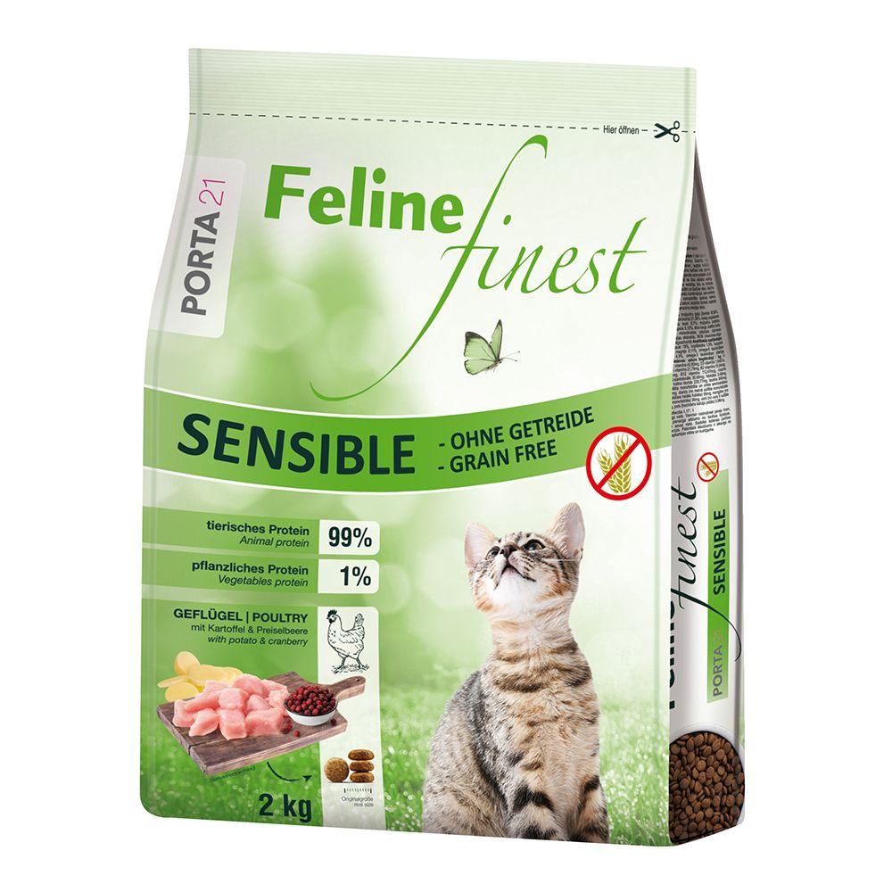 Porta 21 Feline Finest Sensible - spannmålsfritt - 10 kg