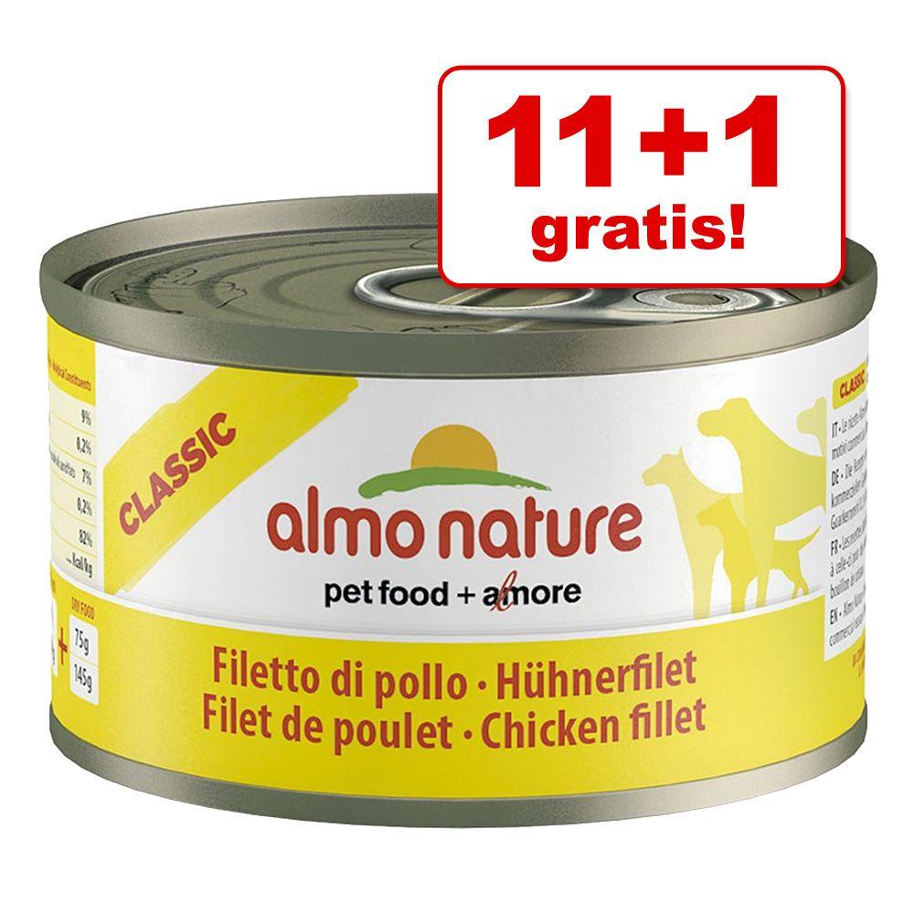 11 + 1 gratis! Almo Natur