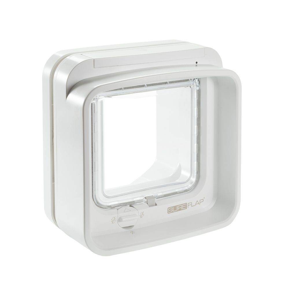 SureFlap DualScan White Microchip Cat Flap