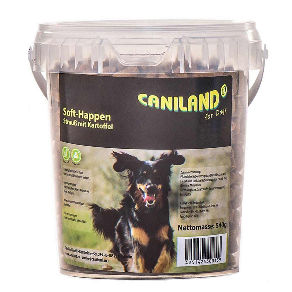 Caniland Soft Strauß-Happen getreidefrei - 540 g