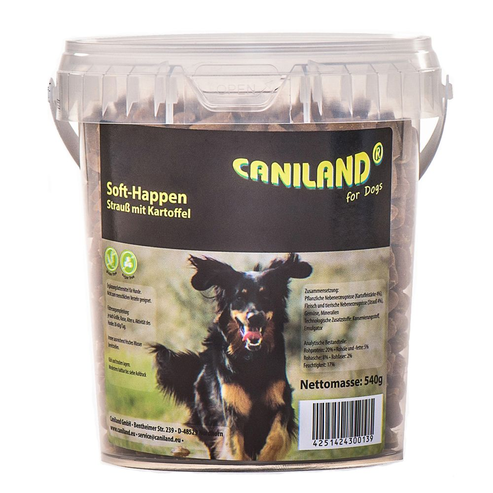 Graion Free Caniland Soft Ostrich Chunks