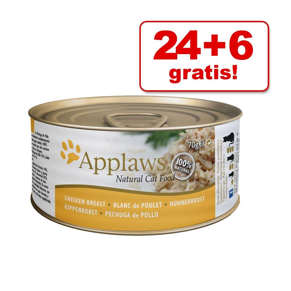 24 + 6 gratis! Applaws w