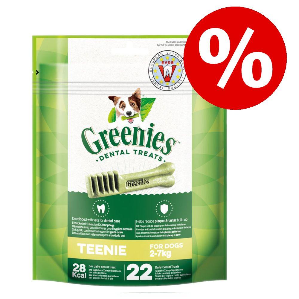 20% rabatt på Greenies tandvårdsgodis! - Teenie (340 g / 43 st)