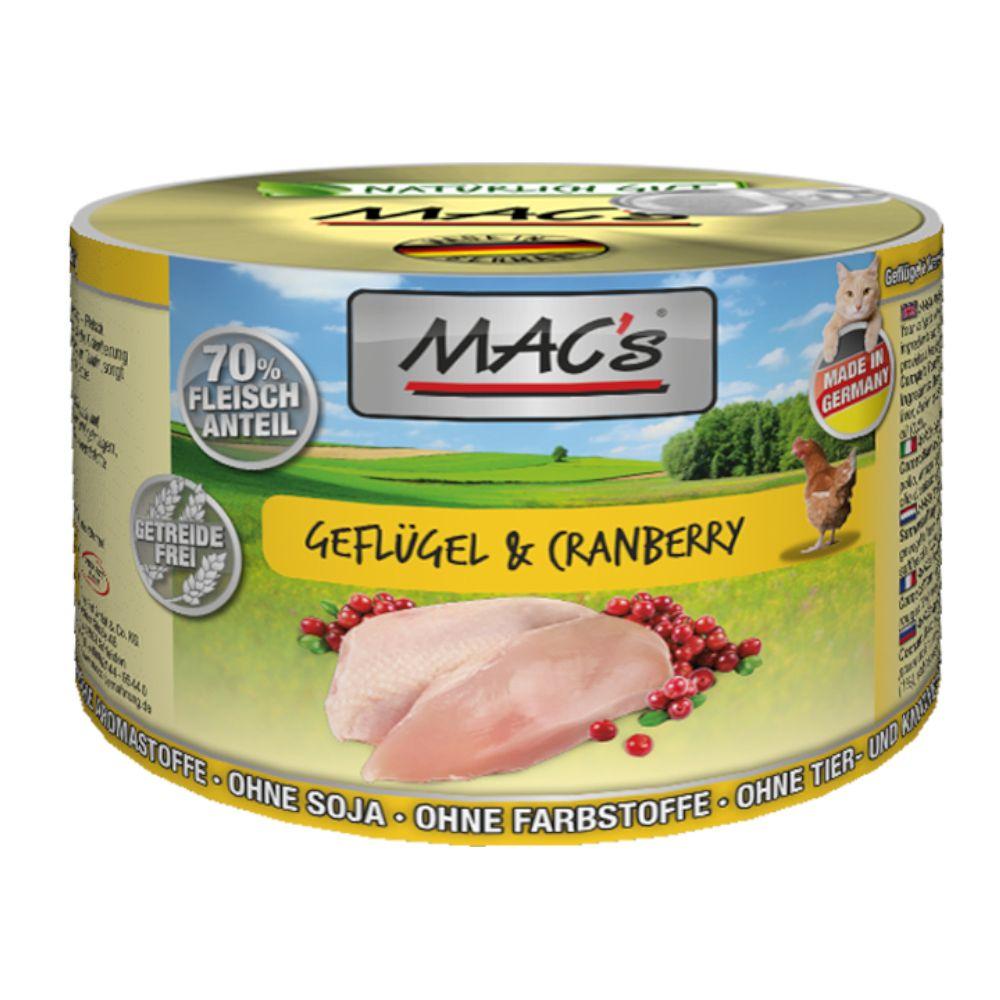 MAC's Cat kattfoder 6 x 200 g - Nötkött