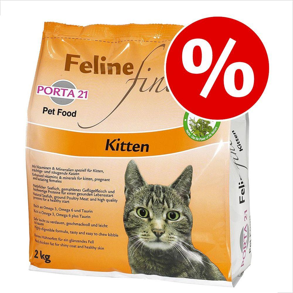 Ekonomipack: Porta 21 Feline Finest Kitten 2 x 2 kg - Feline Finest Kitten
