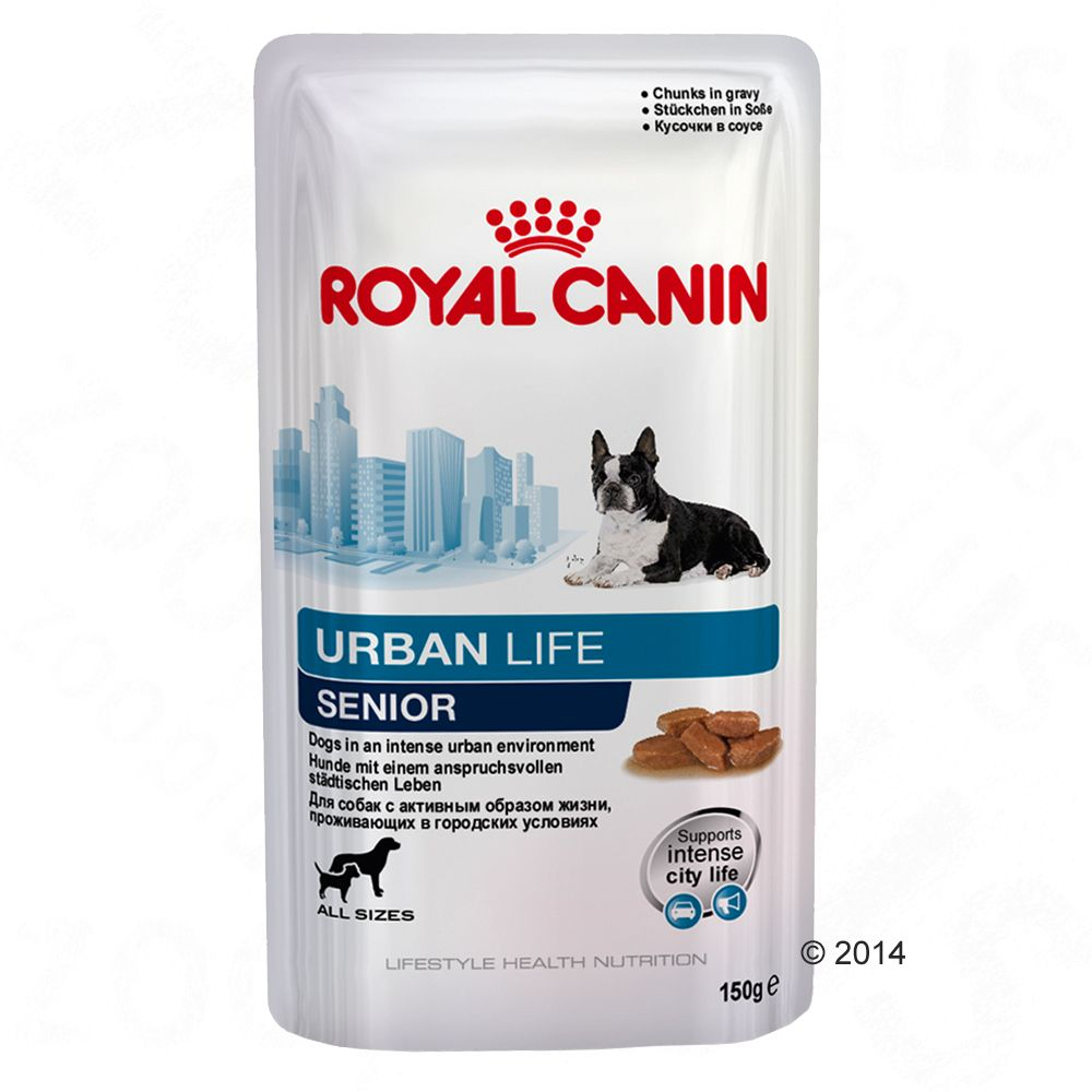 Royal Canin Urban Life Senior - 10 x 150 g