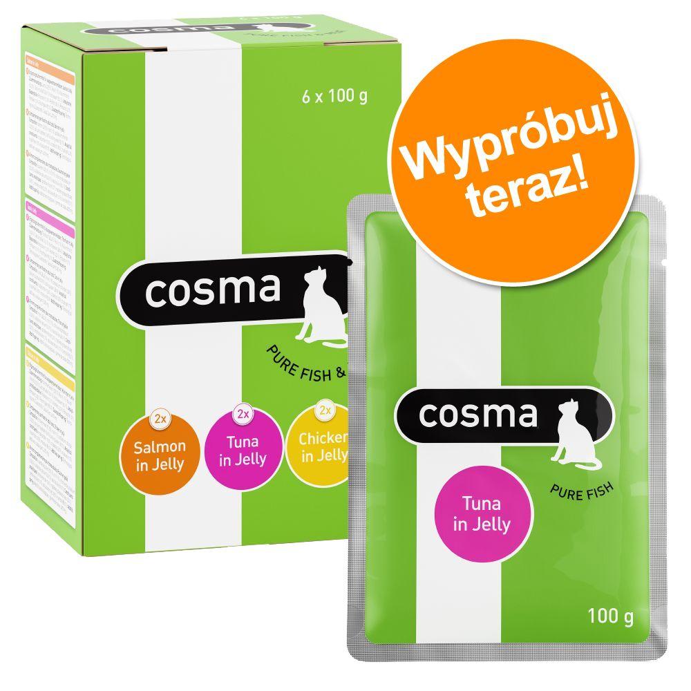 Mieszany pakiet próbny Cosma Original, saszetki - 6 x 100 g
