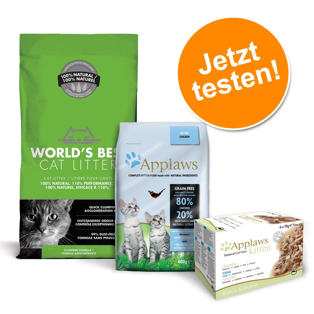 Applaws Kitten Paket - 3 teilig