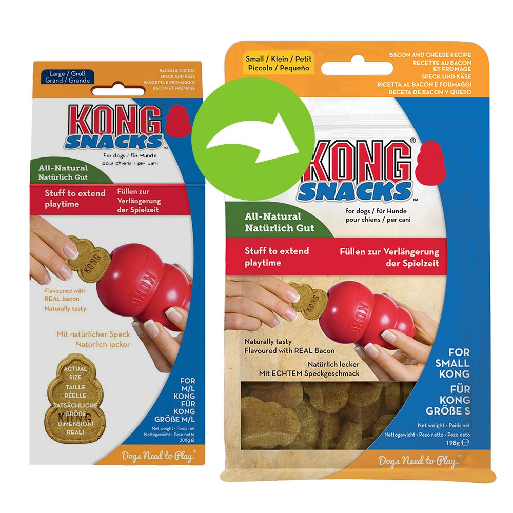KONG Snacks Bacon & Cheese - S: 198 g