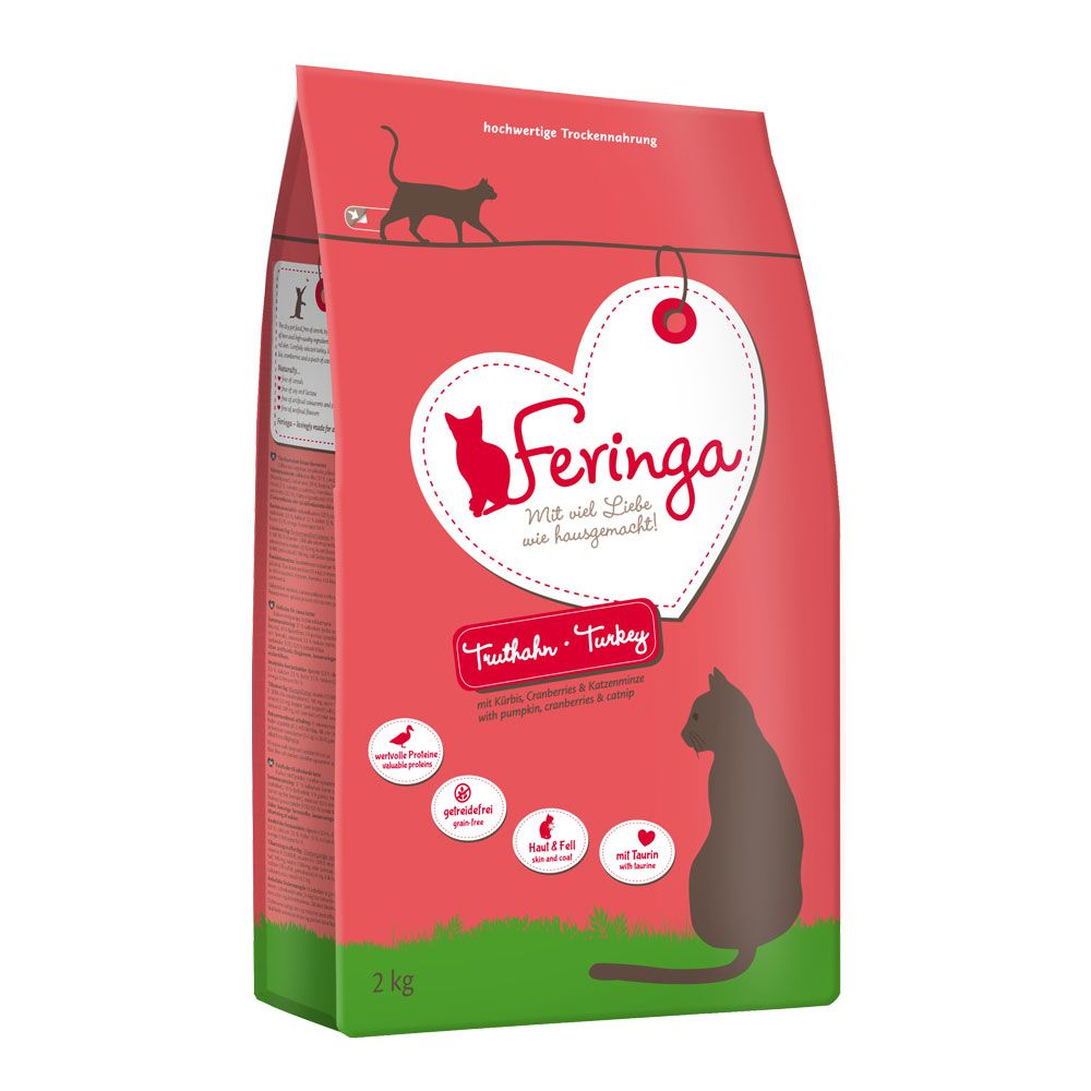 1.5kg Feringa Dry Cat Food + 500g Free