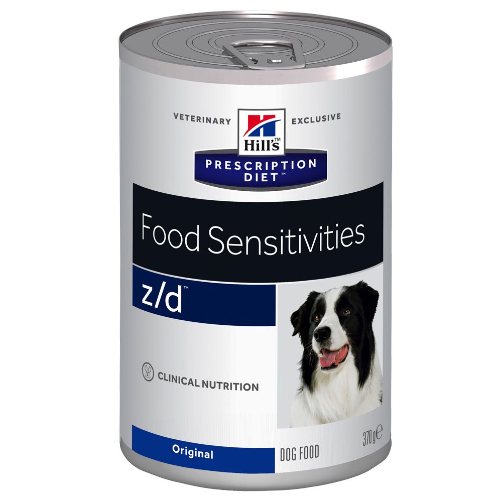 Hill's Prescription Diet Canine - z/d Food Sensitivities - Saver Pack: 24 x 370g