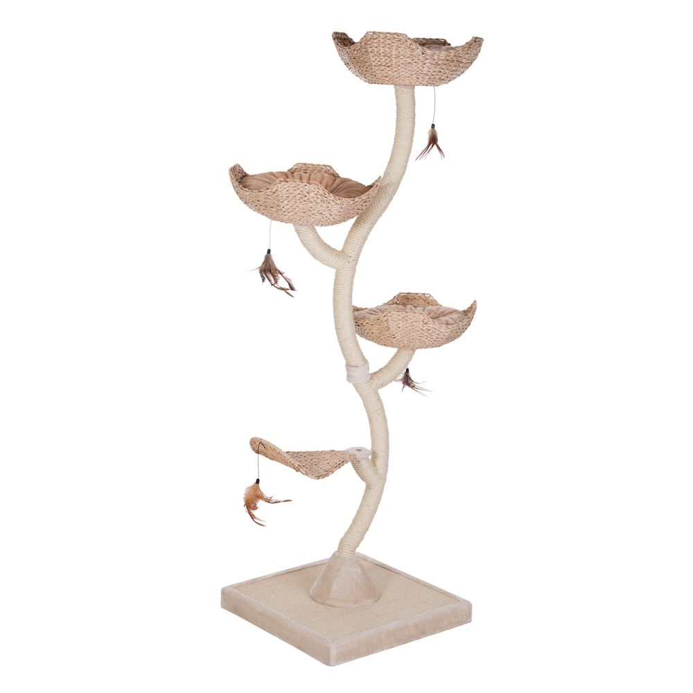 Flower Cat Tree XXL Cream