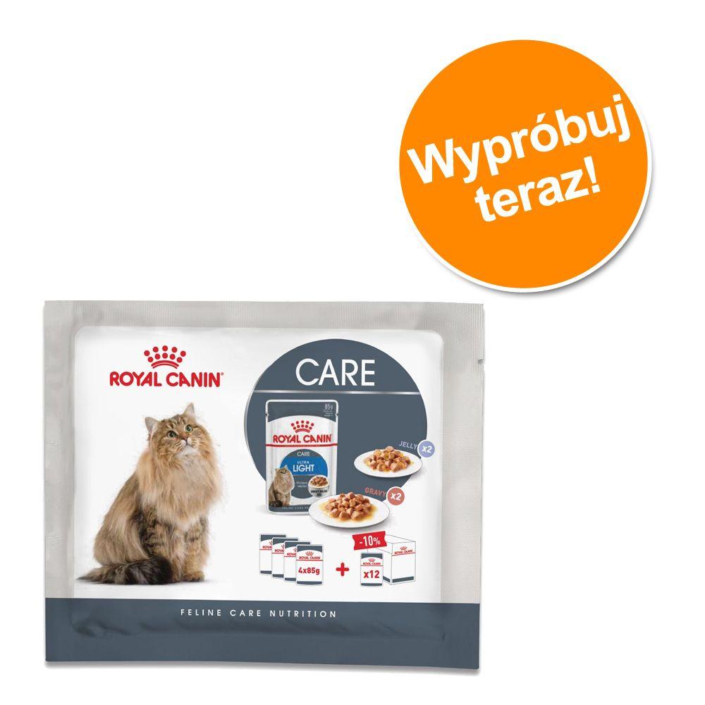 Mieszany pakiet próbny Royal Canin Ultra Light, 4 x 85 g - 4 x 85g (2 rodzaje karmy)