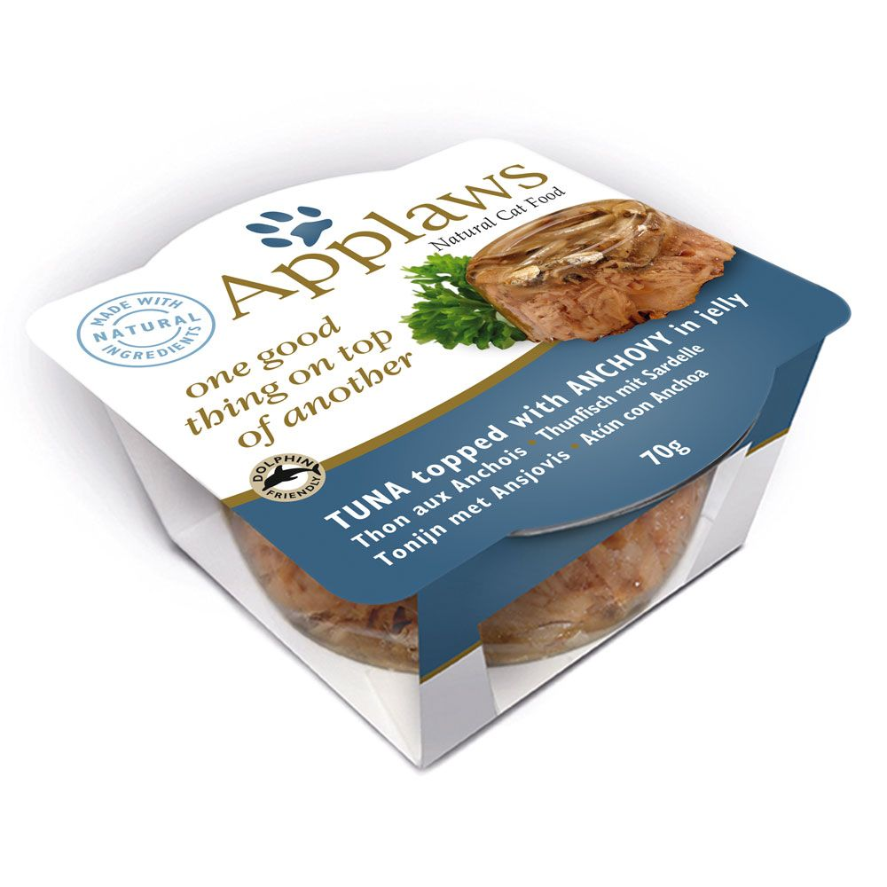Applaws Cat Layers 12 x 70g - Chicken with Lamb in Jelly