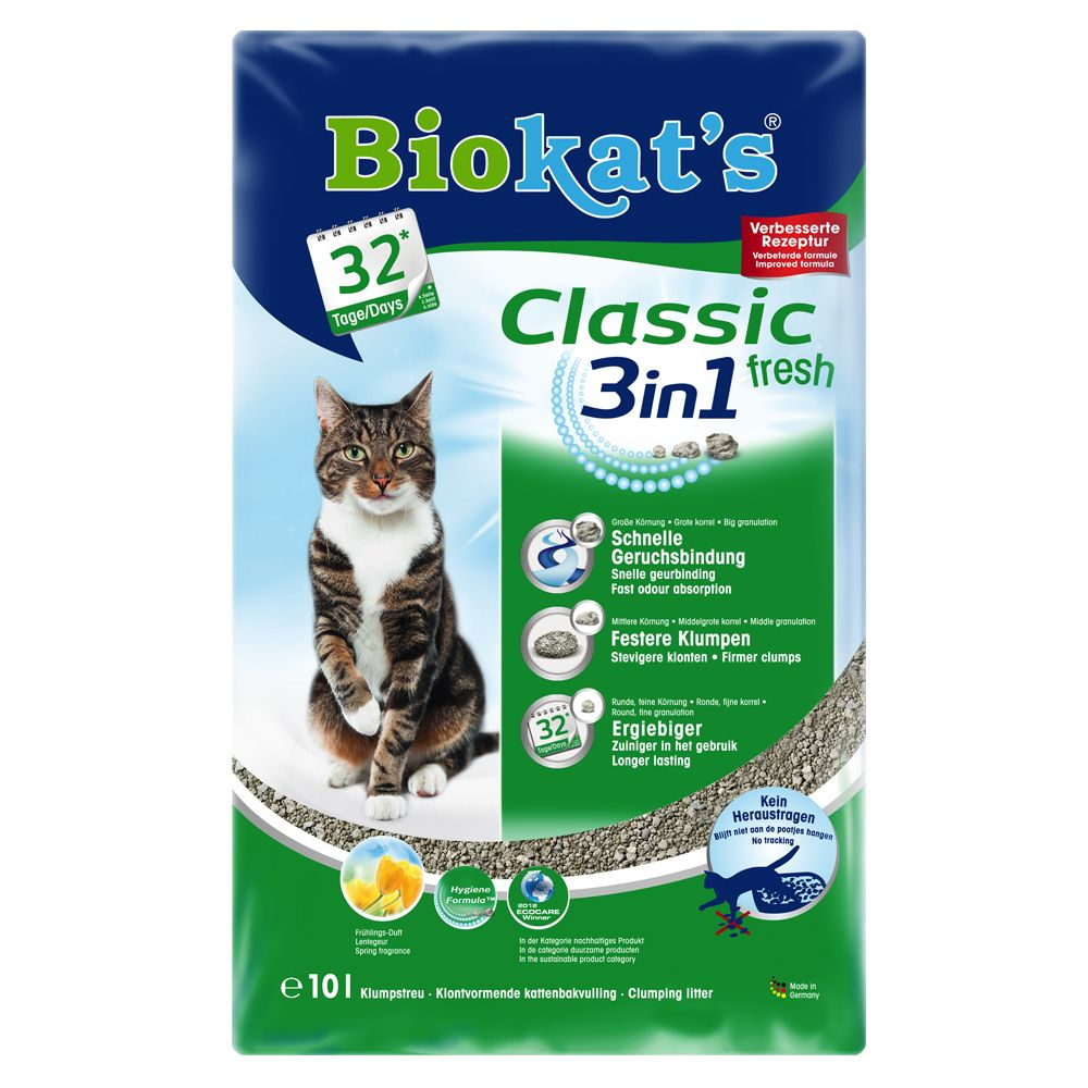 Biokat's Classic Fresh 3in1 - 3 x 10 l