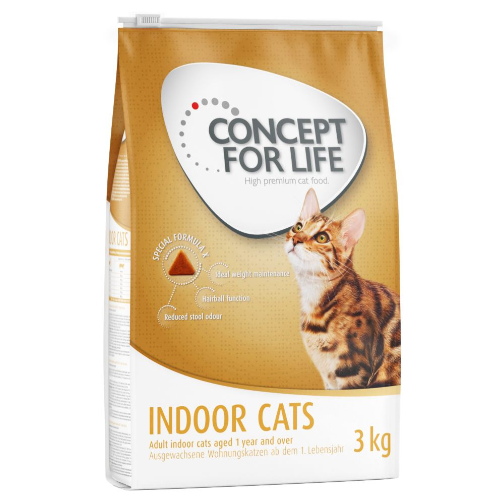 Concept for Life Indoor Cats - 3 kg