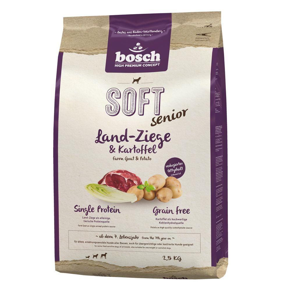 bosch Soft Senior Ziege & Kartoffel - 2,5 kg