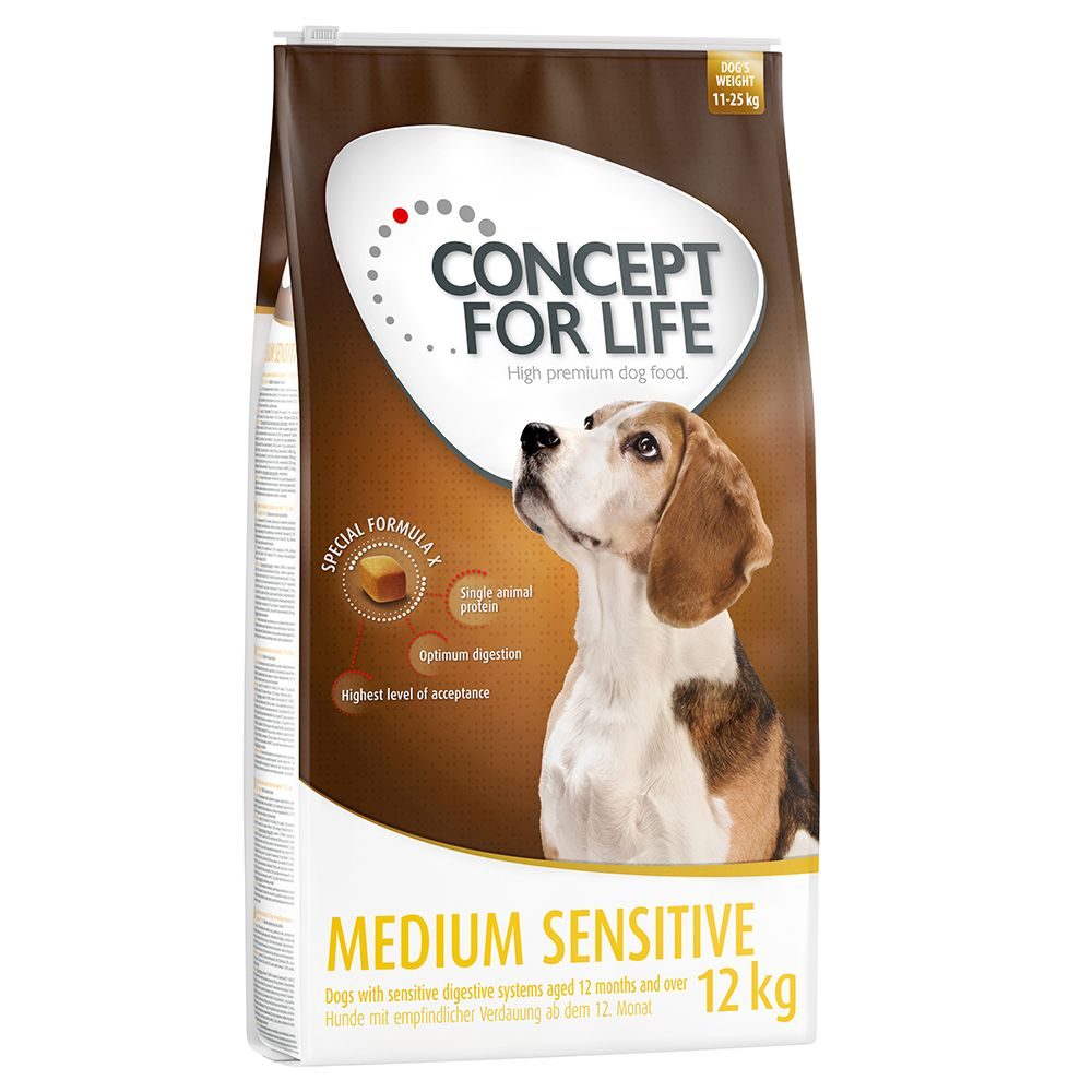 Medium Sensitive Concept for Life Dry Dog Food