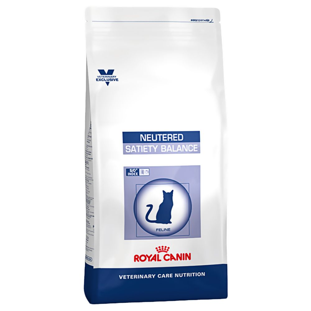 Royal Canin Vet Care Nutrition Cat - Neutered Satiety Balance - Economy Pack: 2 x 12kg