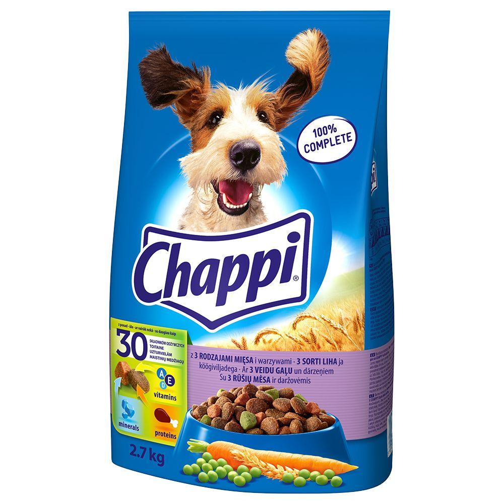 Chappi, 3 rodzaje mięsa -