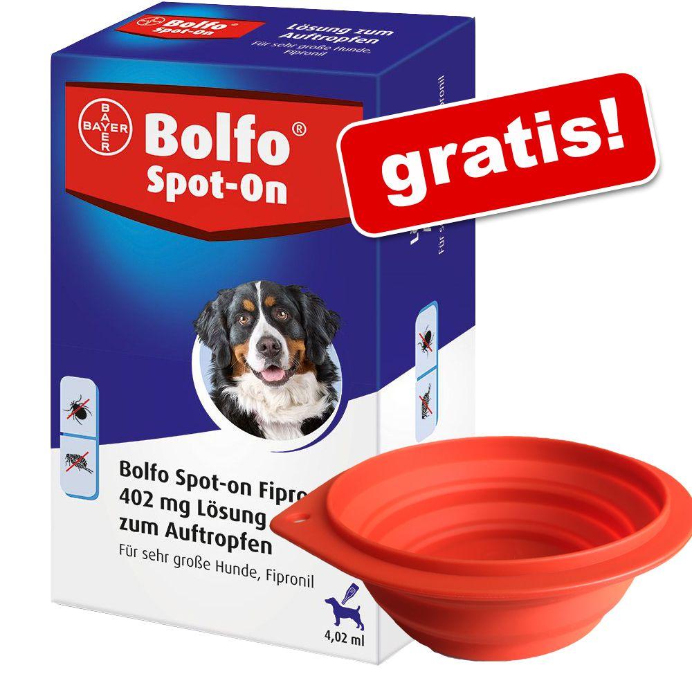 Bolfo Spot-on für Hunde + Reisenapf gratis! - S...