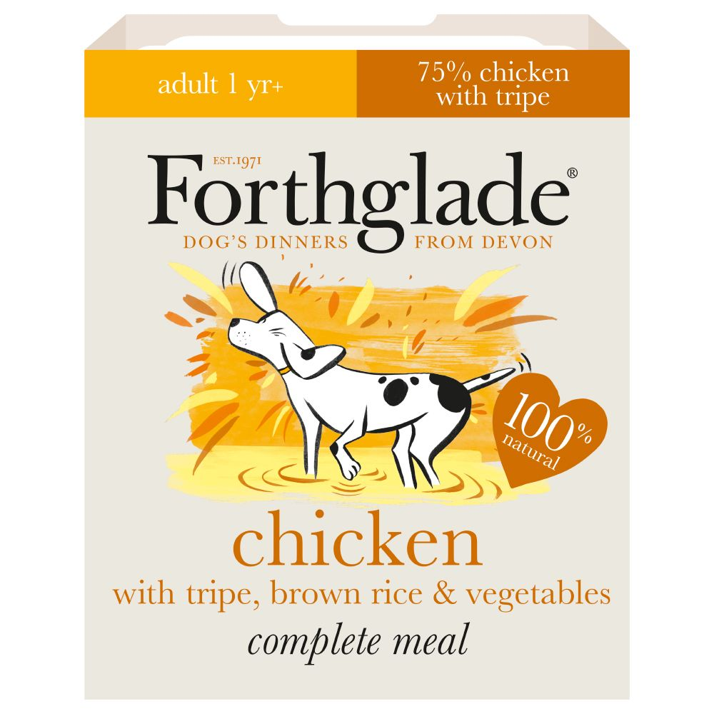 Forthglade Complete Meal Dog Saver Packs 36 x 395g - Adult Ocean Fish with Brown Rice & Vegetables