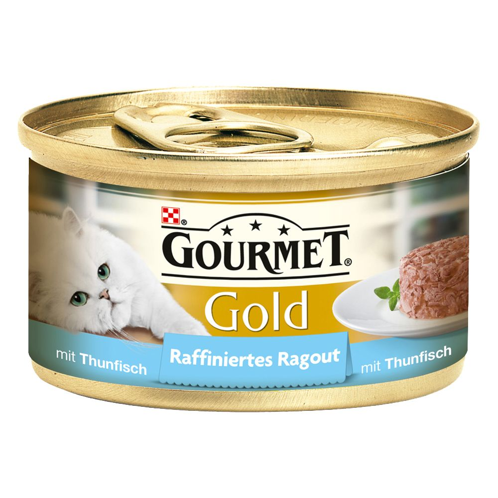 Gourmet Gold Refined Ragout Saver Pack 24 x 85g - Salmon