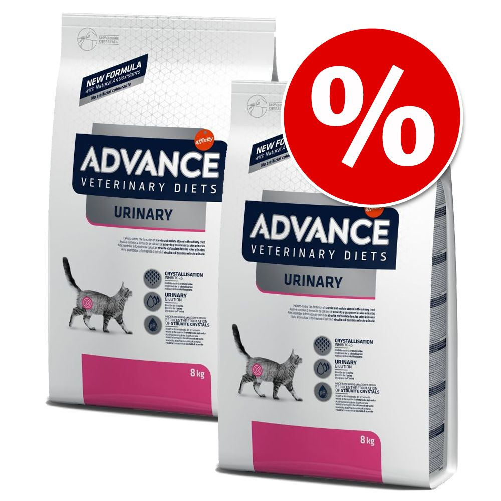 2x8kg Advance Veterinary Diets Obesity Feline pour chat