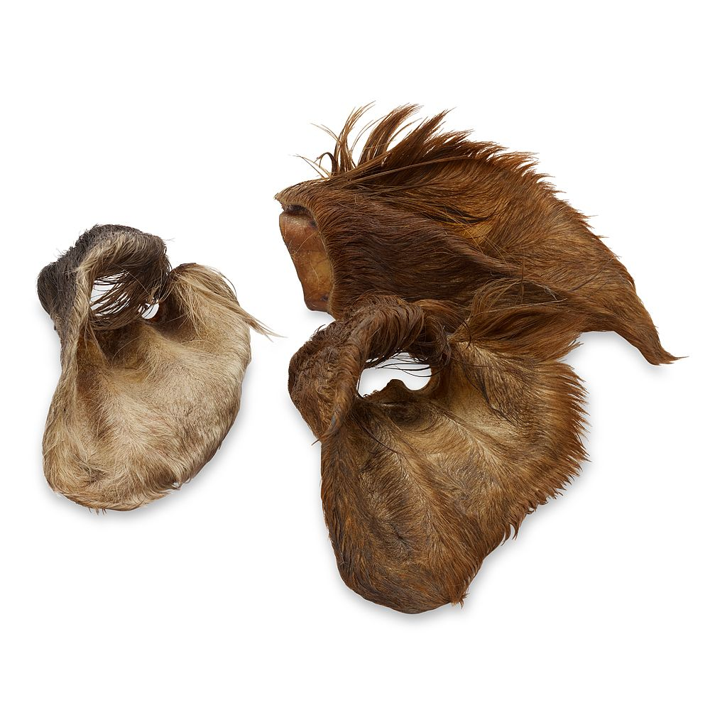 Dried Cows' Ears with Fur