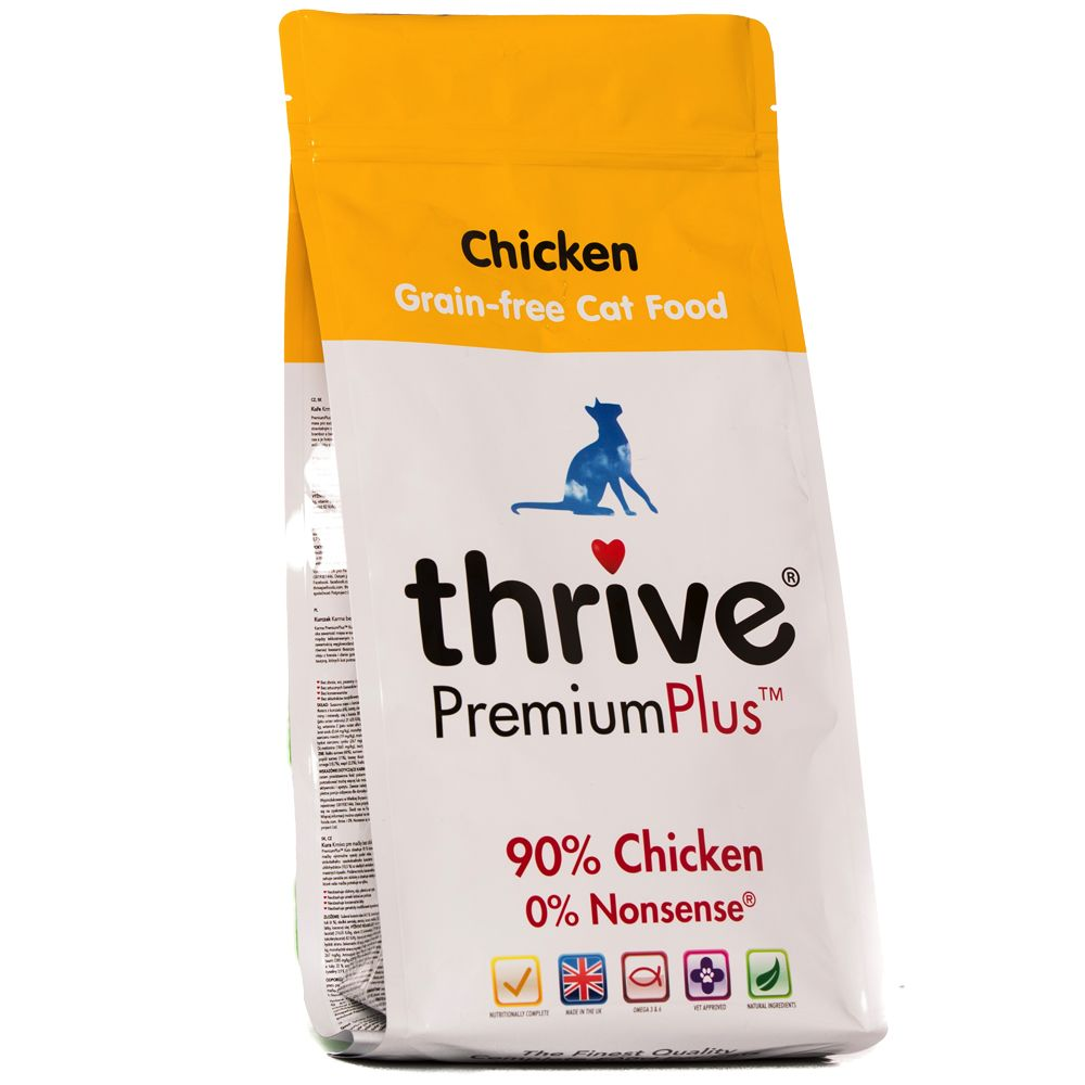 INOpets.com Anything for Pets Parents & Their Pets thrive PremiumPlus Dry Cat Food - Chicken - 1.5kg