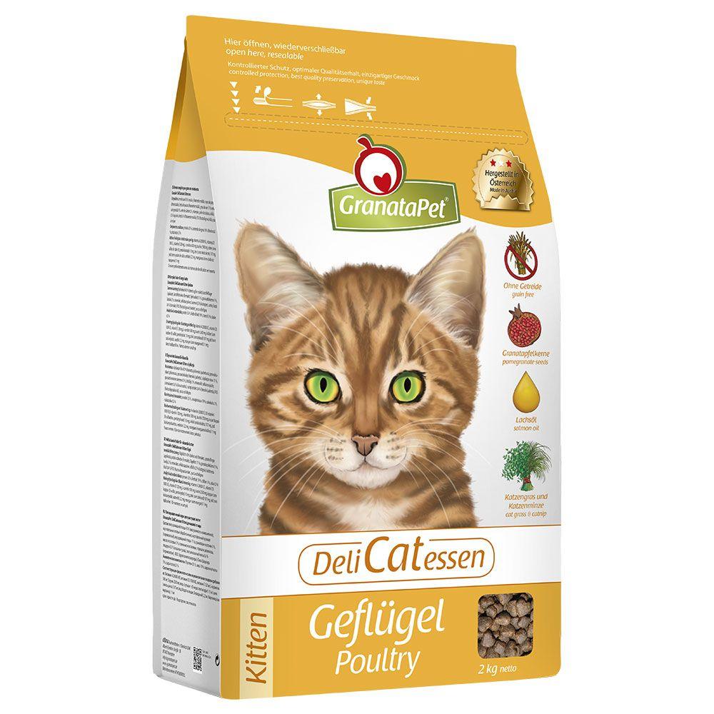 GranataPet DeliCatessen Kitten Poultry Dry Food - 10kg