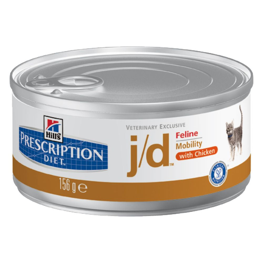 Hill's Prescription Diet Feline - j/d Joint Care - 12 x 156g cans
