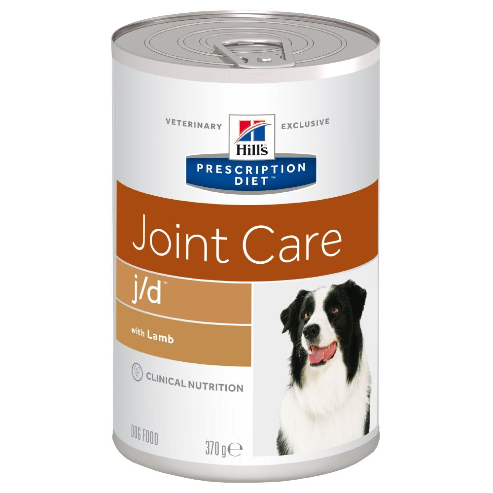 Hill's Prescription Diet j/d Joint Care hundfoder - lamm - 12 x 370 g