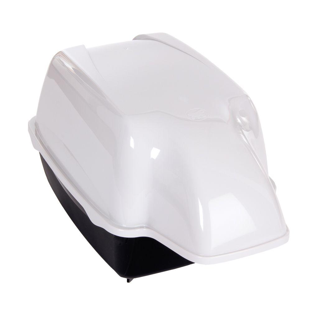 Ferplast Katzentoilette Outdoor - schwarz / weiß