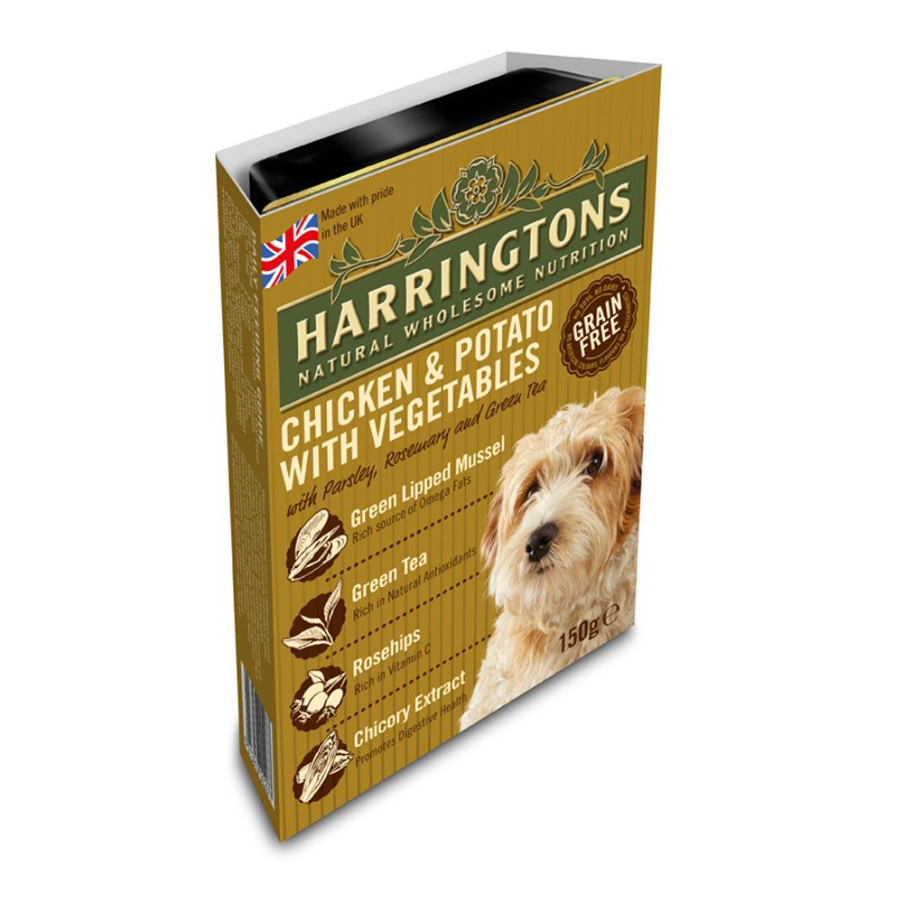 Harringtons Complete Adult Dog - Chicken & Potato - Saver Pack: 21 x 150g