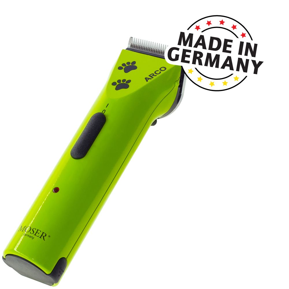 Akku-Schermaschine Moser Arco - Limited Edition - Green - Schermaschine inkl. Scherkopf