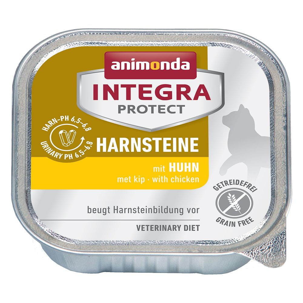 Animonda Integra Protect Adult Urolithiasis 6 x 100 g portionsform Kyckling