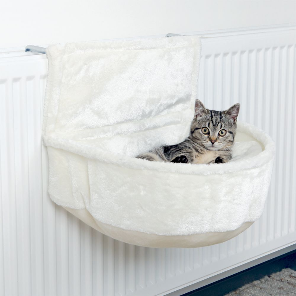 Trixie elementsäng sovpåse – L 45  B 33  H 30 cm – vit