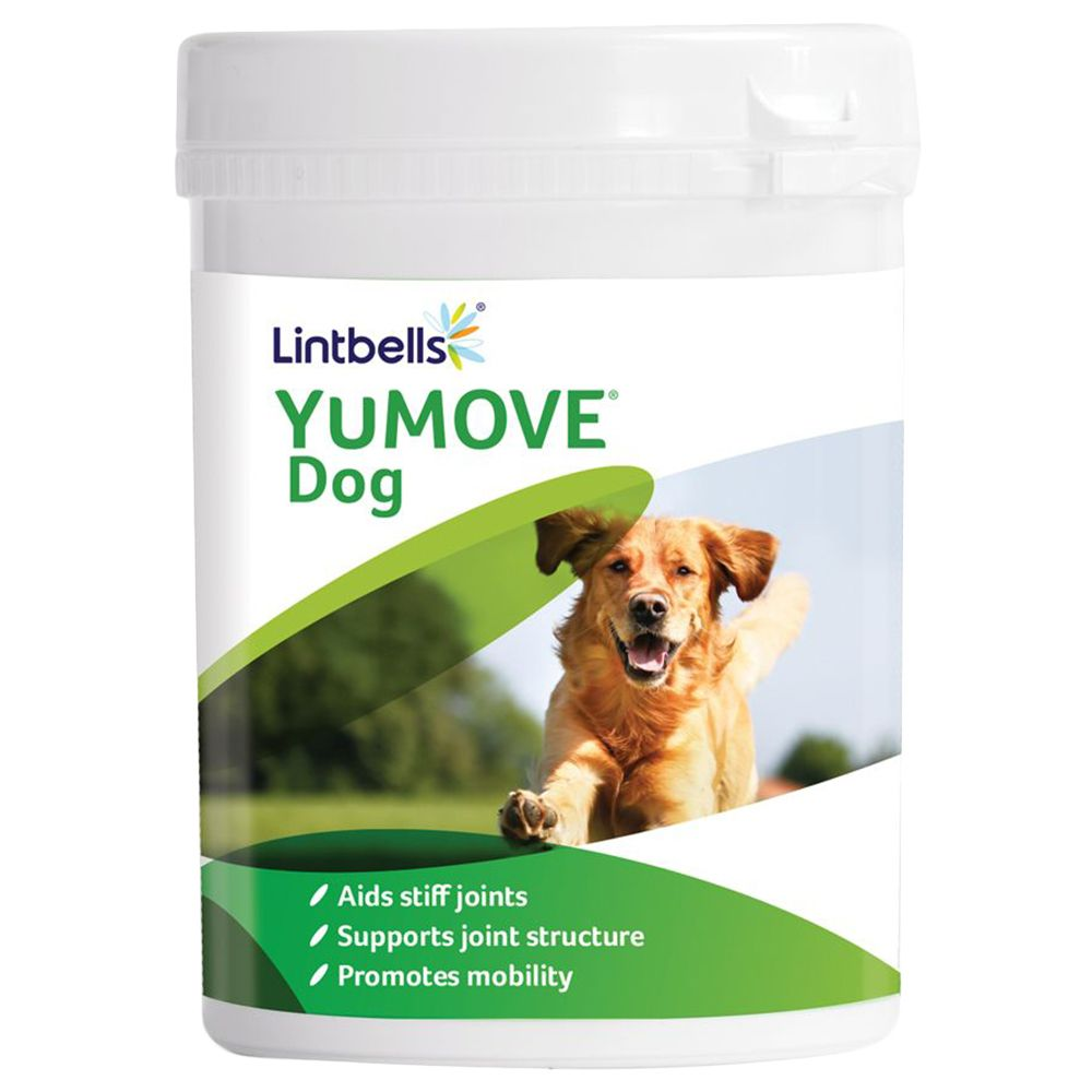 15% OFF Lintbells YuMOVE Dog Supplements 120 Tablets
