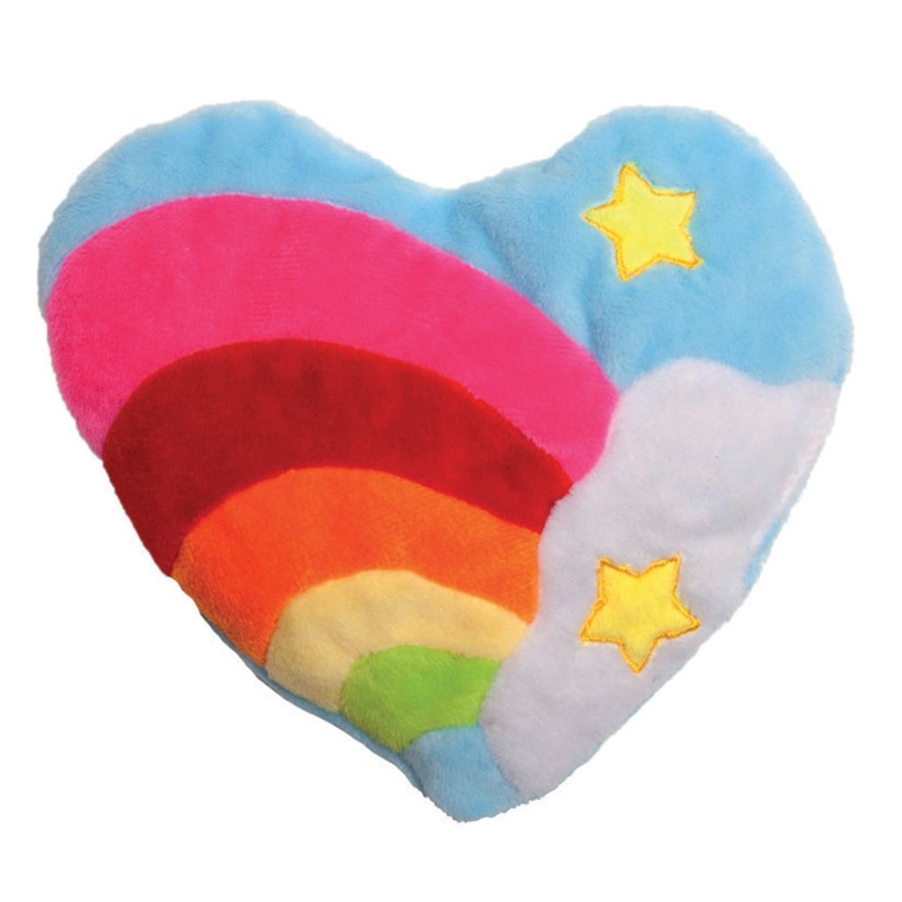 Aumüller Snuggly-Soft Plush Heart Cat Toy