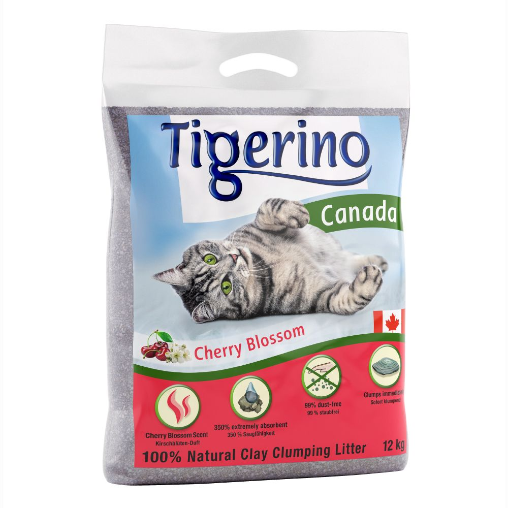 Tigerino Canada Cat Litter Cherry Blossom Scented